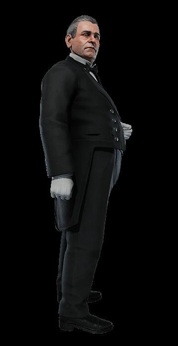 Portrait: The Butler